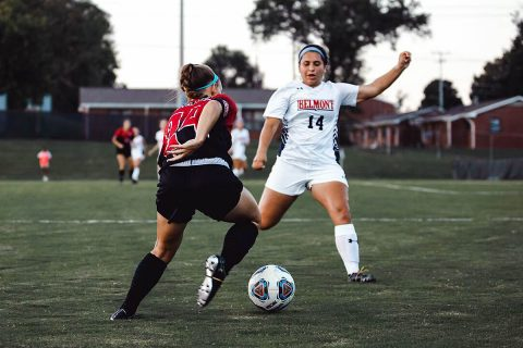Austin Peay Women's Soccer sweeps Eastern Illinois Friday night at Morgan Brothers Soccer Field. (APSU Sports Information)