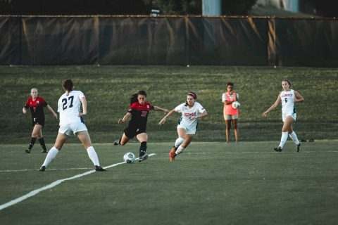 Austin Peay Women's Soccer loses 1-0 against Morehead State Sunday afternoon. (APSU Sports Information)