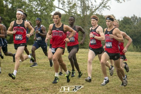 Austin Peay Men's Cross Country run in the OVC Championships at Cape Girardeau, MO, Saturday. (APSU Sports Information)