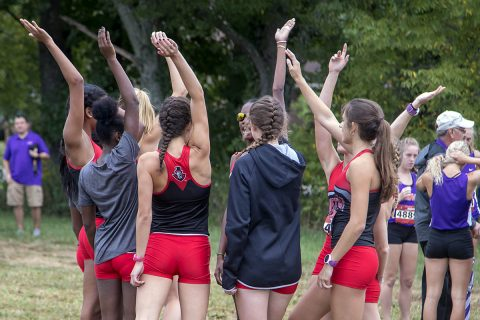 Austin Peay Womnen's Cross Country has strong showing at OVC Championships. (APSU Sports Information)