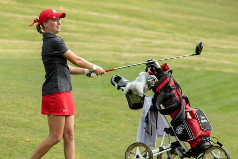 Austin Peay Women's Golf sits in third at F&M Bank APSU Intercollegiate. (APSU Sports Information)
