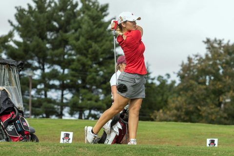Austin Peay Women's Golf get back to work at the ULM Fred Marx Invitational, Monday. (APSU Sports Information)