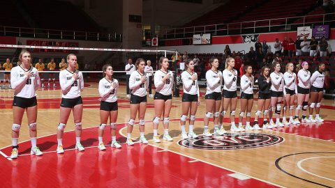 Austin Peay Women's Volleyball hosts UT Martin Friday, Southeast Missouri Saturday in regular seasons final home games. (APSU Sports Information)