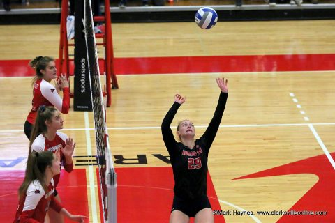 Austin Peay Volleyball senior setter Kristen Stucker