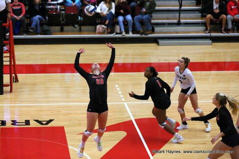 #1 in the OVC, Austin Peay Women's Volleyball takes on #2 Murray State Tuesday night.