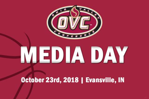 OVC Basketball Media Day is October 23rd, 2018 in Evansville, IN.