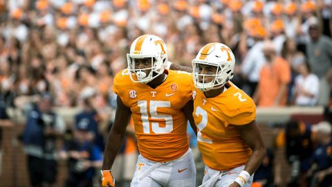 Tennessee Vols Football beat ranked Auburn last week. Volunteers hosts #1 ranked Alabama this Saturday afternoon. (UT Athletics)