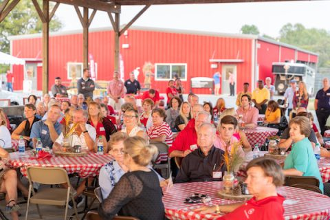 60th Annual Tower Club Dinner was held Friday at the APSU Farm.