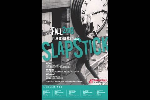 Slapstick Film Festival to be held this fall at Austin Peay State University.