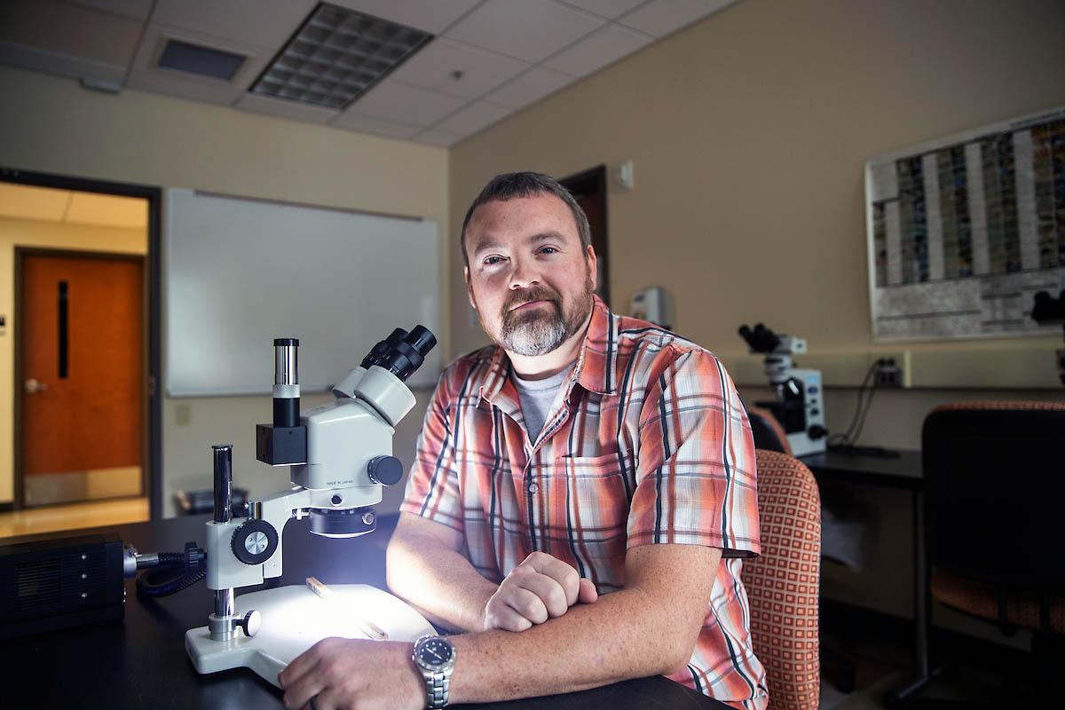 Austin Peay State University professor Dr. Chris Gentry
