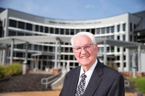 Austin Peay State University's Dr. Bruce Myers dedicated 48 years to serving Austin Peay students.