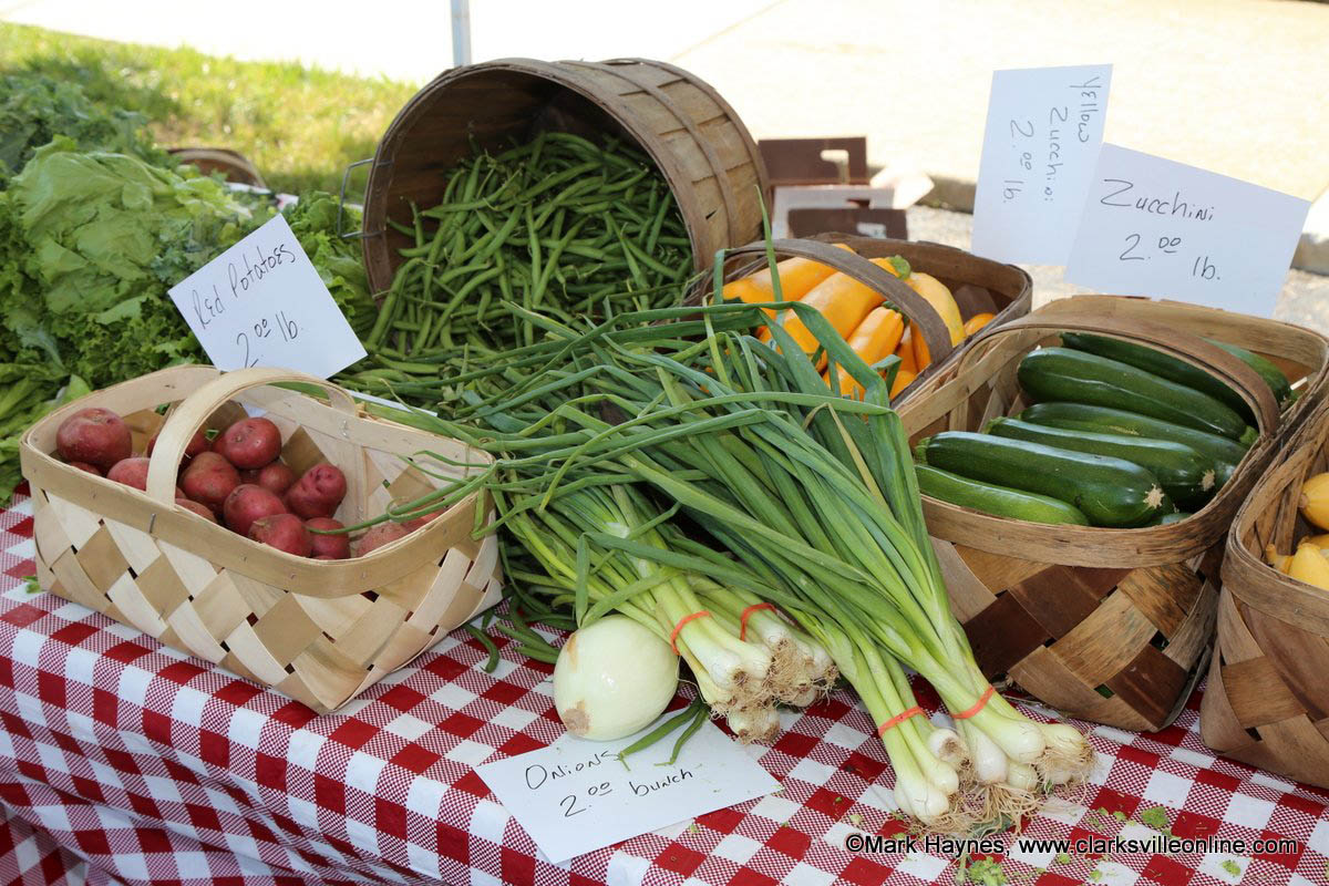 Be sure to stock up on fall produce, seasonal decor, at the Clarksville Downtown Market's final day of the season.