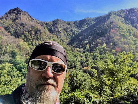 Hank Motorcycle Smoky Mountains