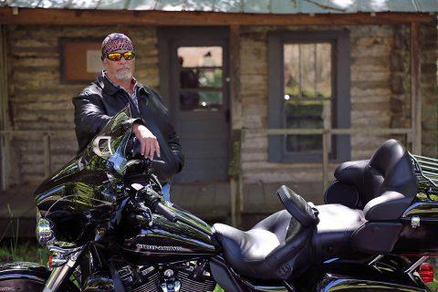 Hank and his Harley