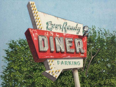 John Baeder - Ever Ready Diner