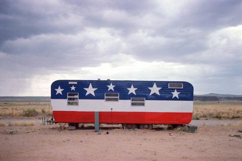 John Baeder - Trailer Arizona Route 66
