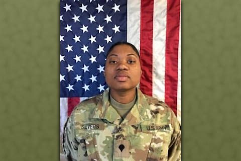 Sgt. Brittney Niecol Silvers (Photo taken as a Spc.)