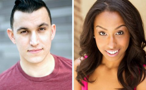 """Sean Kincaid and Mairys Joaquin star as Ben and Abby in Neil LaBute's """"The Mercy Seat"""" in the Roxy Regional Theatre's theotherspace, October 1st-9th."""