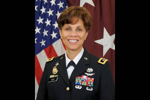 U.S. Army Surgeon General Lt. Gen. Nadja West