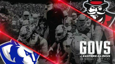 Austin Peay Governors Football travels to Eastern Illinois to take on the Panthers Saturday at 1:00pm. (APSU Sports Information)