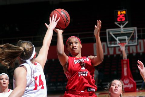 Austin Peay Women's Basketball gets 100-62 win over Christian Brothers at the Dunn Center Friday night. (Robert Smith, APSU Sports Information)
