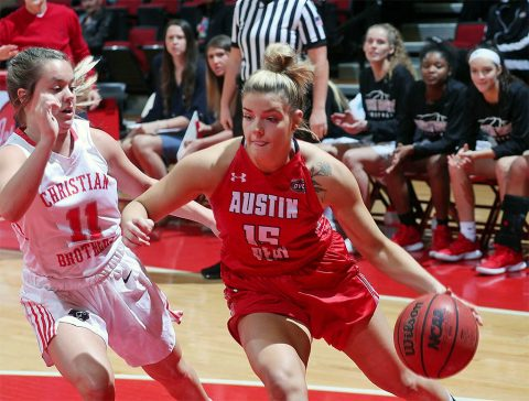 Austin Peay Women's Basketball takes on Vanderbilt Monday at Memorial Gymnasium. (APSU Sports Information)