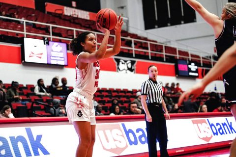 Austin Peay Women's Basketball gets 90-78 win over Trevecca at the Dunn Center Wednesday night. (APSU Sports Information)