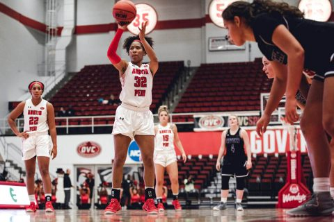 Austin Peay Women's Basketball plays Mississippi State Valley at the Dunn Center Monday night at 7:00pm. (APSU Sports Information)