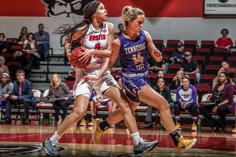 Austin Peay Women's Basketball opens season with exhibition match against Georgetown College (KY) at the Dunn Center, Friday. (APSU Sports Information)