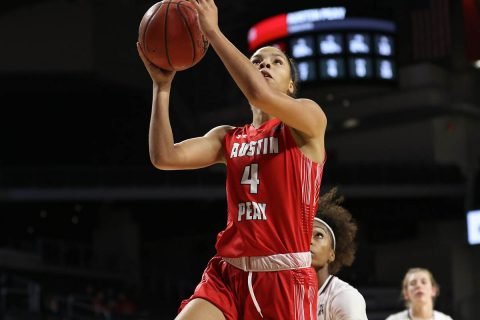 Austin Peay Women's Baskeball turnovers critical in 69-49 loss to Cincinnati Tuesday night. (APSU Sports Information)