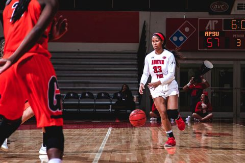 Austin Peay Women's Basketball kicks off home season Friday against Christian Brothers. (APSU Sports Information)