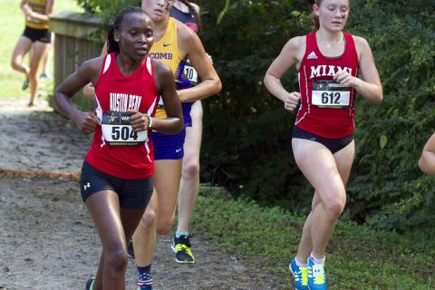 Austin Peay Cross Country teams compete hard at NCAA South Regional. (APSU Sports Information)