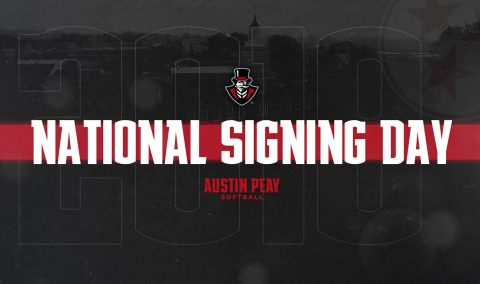 Austin Peay Softball signs catcher Riley Suits during NCAA signing period. (APSU Sports Information)