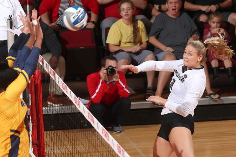 Austin Peay Women's Volleyball are on the road this weekend against SIU Edwardsville and Eastern Illinois. (Robert Smith, APSU Sports Information)