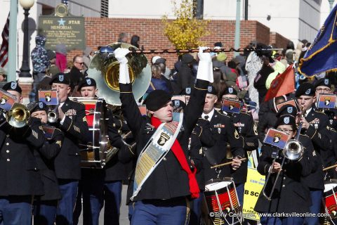 Patriotism was on full display at this year' Veterans Day Parade, which winded its way through the streets of Downtown Clarksville on Saturday, November 10th, 2018.