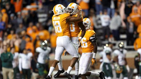Tennessee Vols Football takes on its Sixth-Ranked Opponent of 2018 Saturday when it hosts #11 Kentucky. (UT Athletics)