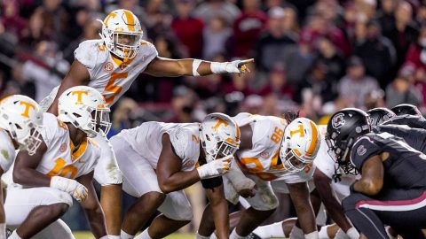 Tennessee Vols Football takes on the Vanderbilt Commodores in Nashville Saturday. Kick off is at 3:00pm CT. (UT Athletics)
