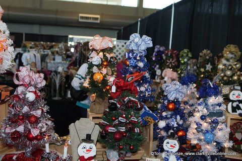 Clarksville Parks and Recreation's Handmade Holidays.