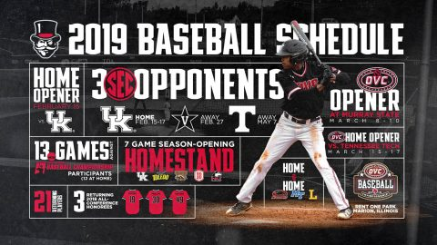 Austin Peay Baseball's 2019 Schedule has been released. (APSU Sports Information)