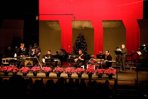 The David Steinquest and Friends Christmas concert at Austin Peay State University.