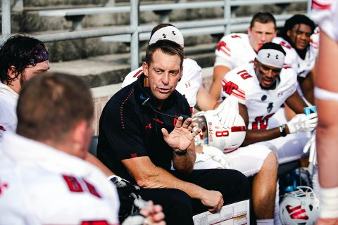 Austin Peay coach Joshua Eargle has been selected as a finalist for the Rare Disease Champion Award by Uplifting Athletes. (APSU Sports Information)