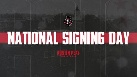 Austin Peay Women's Volleyball signs three during 2018 Signing Period. (APSU Sports Information)