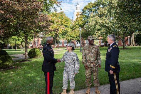 Retired Lt. Gen. Ronald Bailey and retired Brig. Gen. Scott E. Brower joined APSU's senior leadership team.