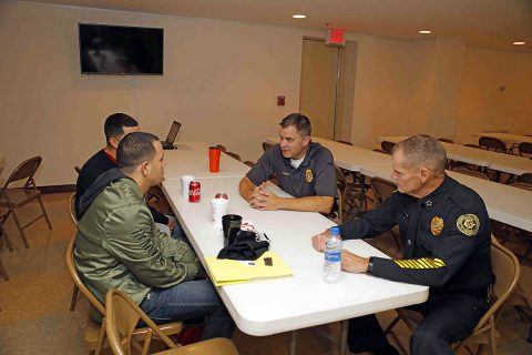 Clarksville Police Department held a Recruiting Fair at Christ the Healer Church on November 17th.