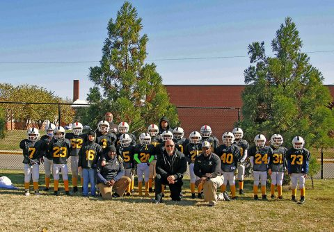 Pee Wee Steelers 2018 Superbowl Champions for Jr Pro 9-10 year old division