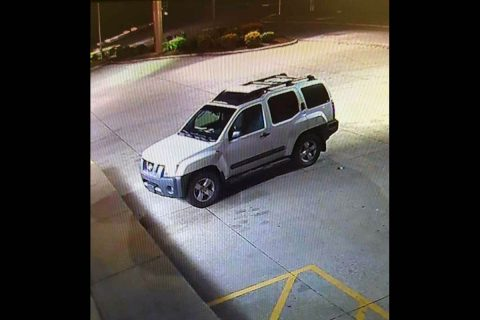 Photo of the suspects vehicle.