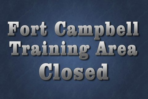 Fort Campbell Training Area will be closed and off-limits to all through traffic and recreational use from 7:00pm November 28th, 2018 through 5:00am December 14th.