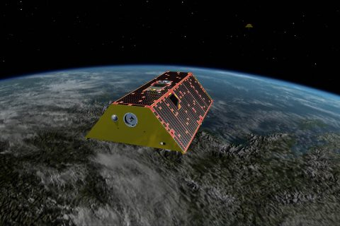 Illustration of the twin GRACE Follow-On Satellites. (NASA/JPL-Caltech)