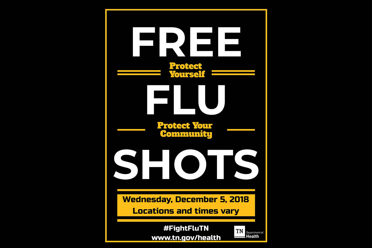 Free Flu shot events planned statewide Dec. 5
