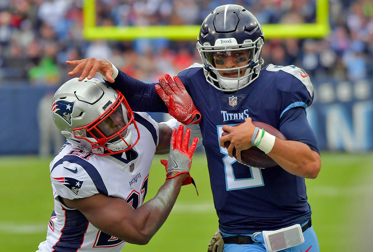 b5a4fc73 Tennessee Titans last game against New England Patriots ...